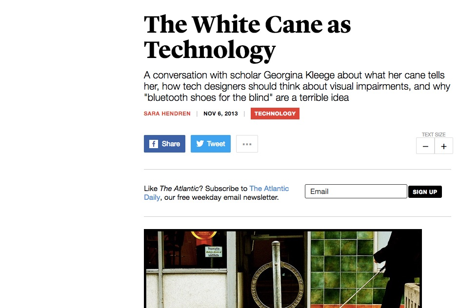 an image of the Atlantic Tech with the article's headline